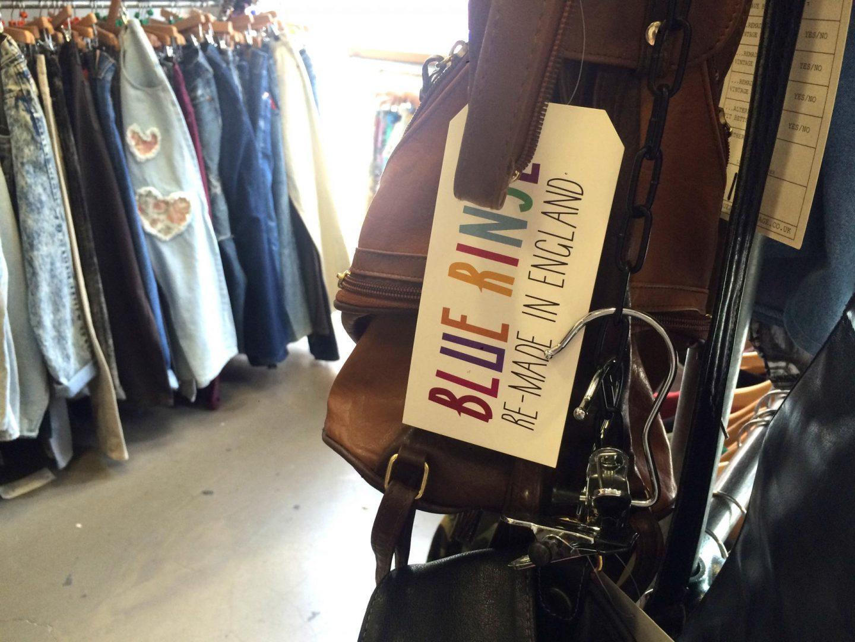 blue rinse vintage shop manchester