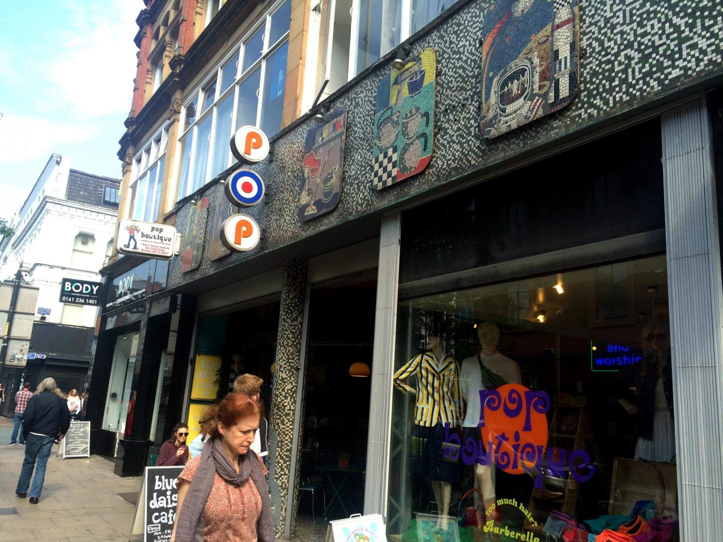 pop boutique vintage shop manchester