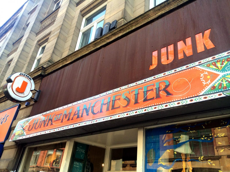 junk vintage shop manchester