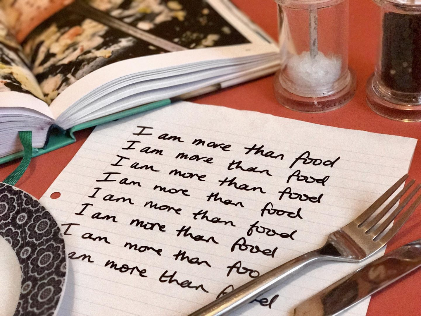I Am More Than Food: My New Mantra