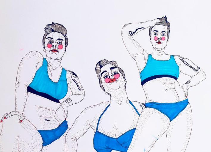 It bothers me to see thin people making body positivity about themselves